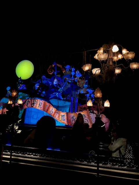 Nightmare Before Christmas Haunted Mansion