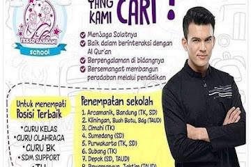 Lowongan Kerja Bandung Guru & Karyawan Sekolah Rabbani