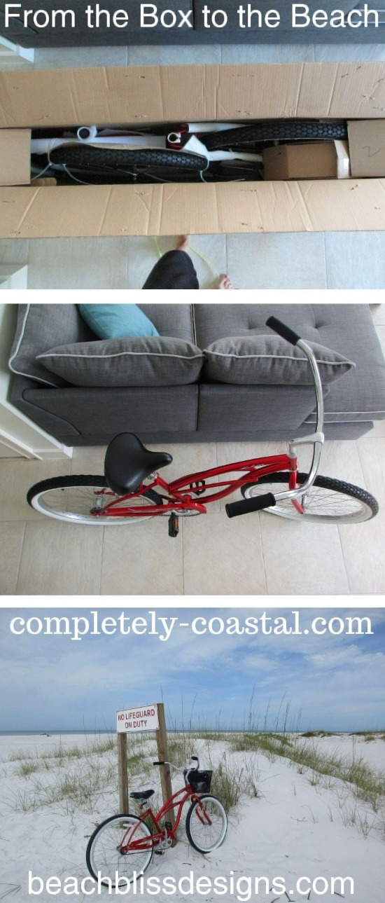 Womens Beach Cruiser Assembly