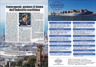 DICEMBRE 2018 PAG. 22 - Federagenti, guidare il futuro dell'industria marittima
