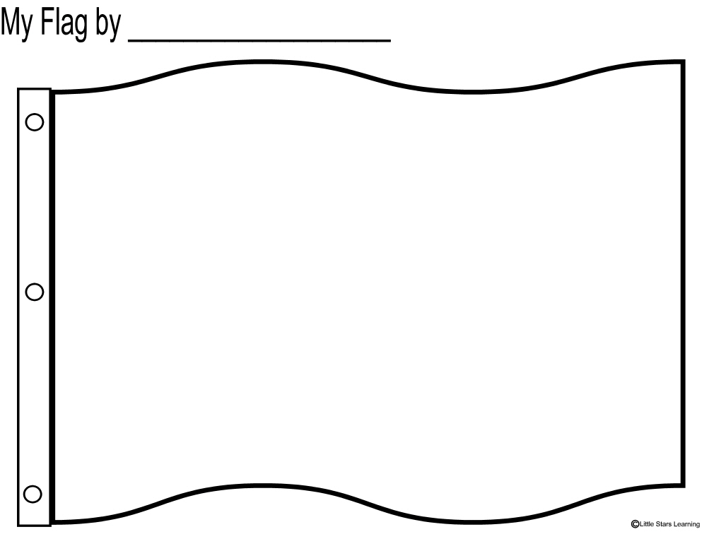Coloring Pages Blank Russian Flag Color Picsbud