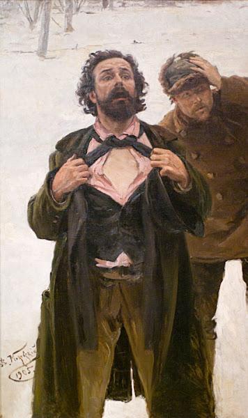 Маковский Владимир Егорович - 9 января 1905 года на Васильевском острове. 1907