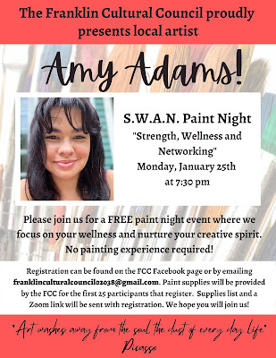 S.W.A.N Paint Night; Strength, Wellness & Networking with Amy Adams