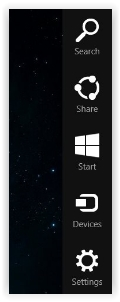 charm bar windows 8