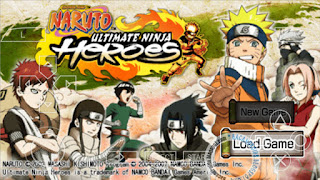 download Game Naruto Ultimate Ninja Heroes ISO Compress PPSSPP Android