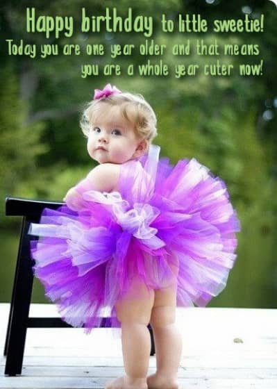 Birthday Wishes for Your Little Girl