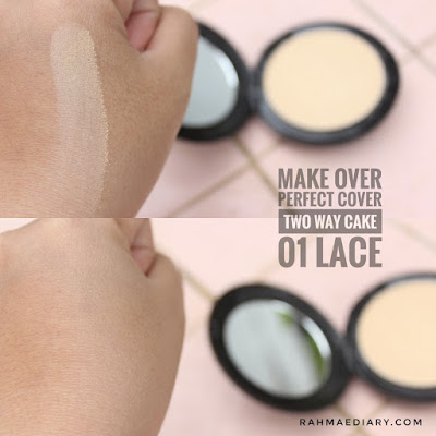 Make Over Perfect Cover Two Way Cake Review