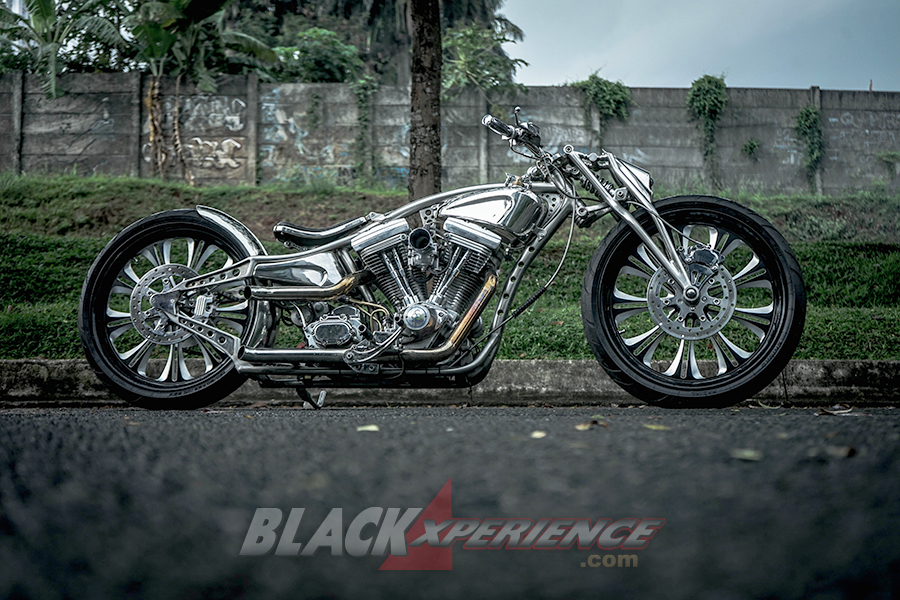 Modifikasi Motor Chopper dari Harley