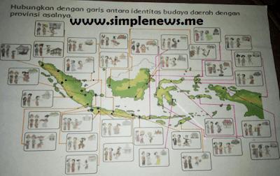Hubungkan dengan garis antara identitas budaya daerah dengan provinsi asalnya www.simplenews.me