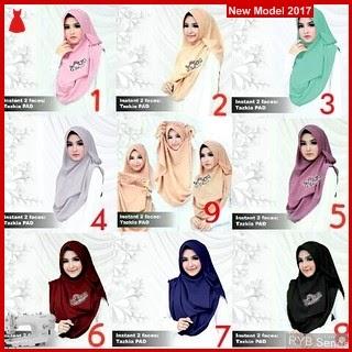 RYB073B Kerudung Hijab Cantik Instant Murah Tazkia BMG Online Shop