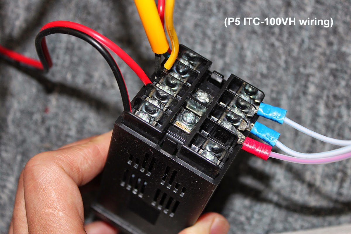 Itc 100 Wiring A Pid Controller Reveolution Of Diagram How To Connect And Set Temperature 100vh Rh Szinkbird Blogspot Com Analog
