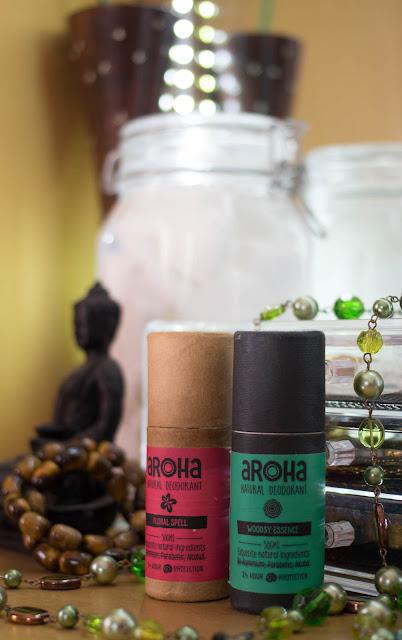 Aroha Natural Deodorant Preservative free Organic Beauty products Canon 100D Rebel SL1