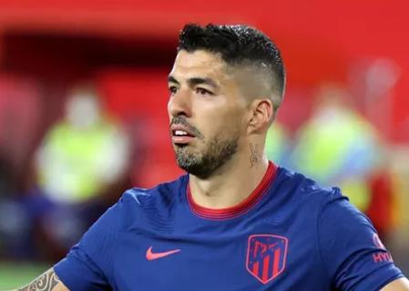 Suárez sofre lesão e desfalca o Atlético de Madrid
