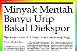 Banyu Urip Crude Oil Will Be Exported