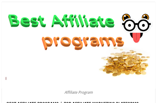 Best Affiliate programs | Top Affiliate Marketing Platforms
