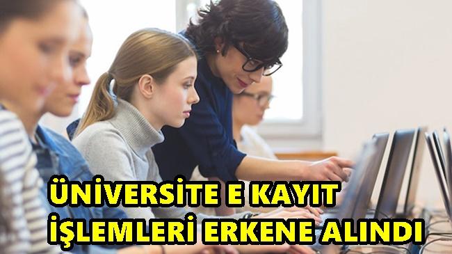 Üniversite E Kayıt