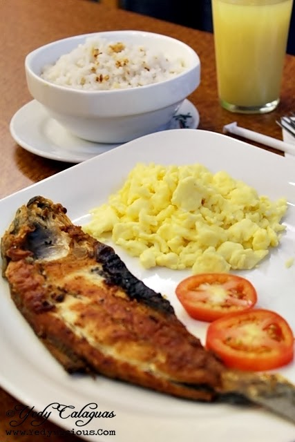 Aristocrat Restaurant Jupiter St. Makati Breakfast Daing na Bangus