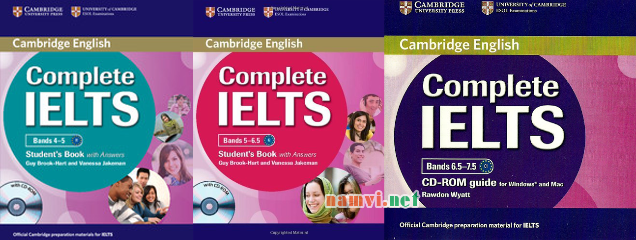 Complete IELTS Bands 4-5, 5-6.5, 6.5-7.5