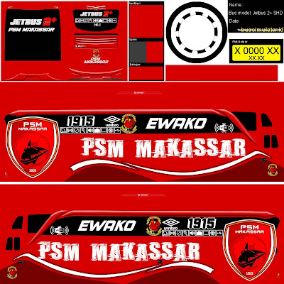 livery bussid psm makasar