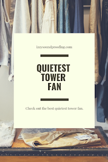 quietest tower fan