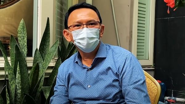 Ahok Berduka Fahrurrozi 'Gubernur Tandingan' Wafat Akibat Covid, Ini Pesannya