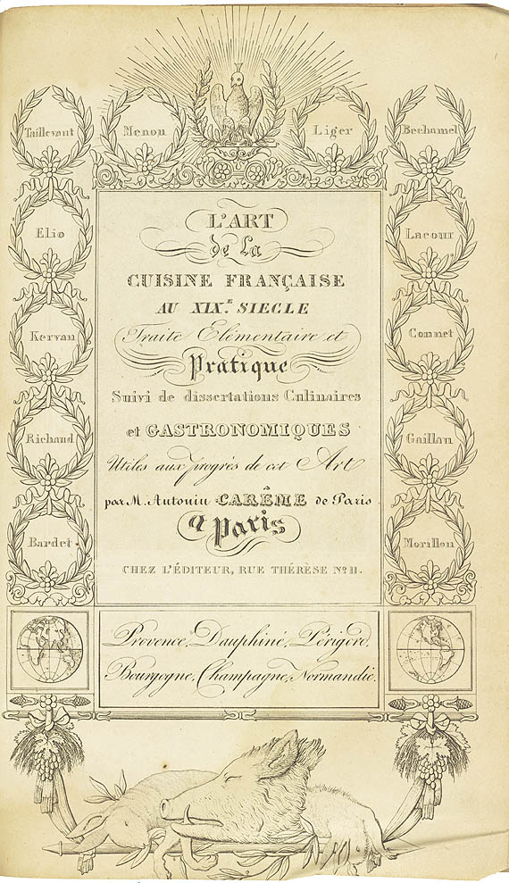 Behind The French Menu Antonin Car 234 Me The Most