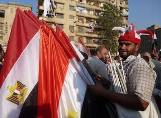 Protestations contre le président déchu Mohamed Morsi et ses partisans des Frères Musulmans