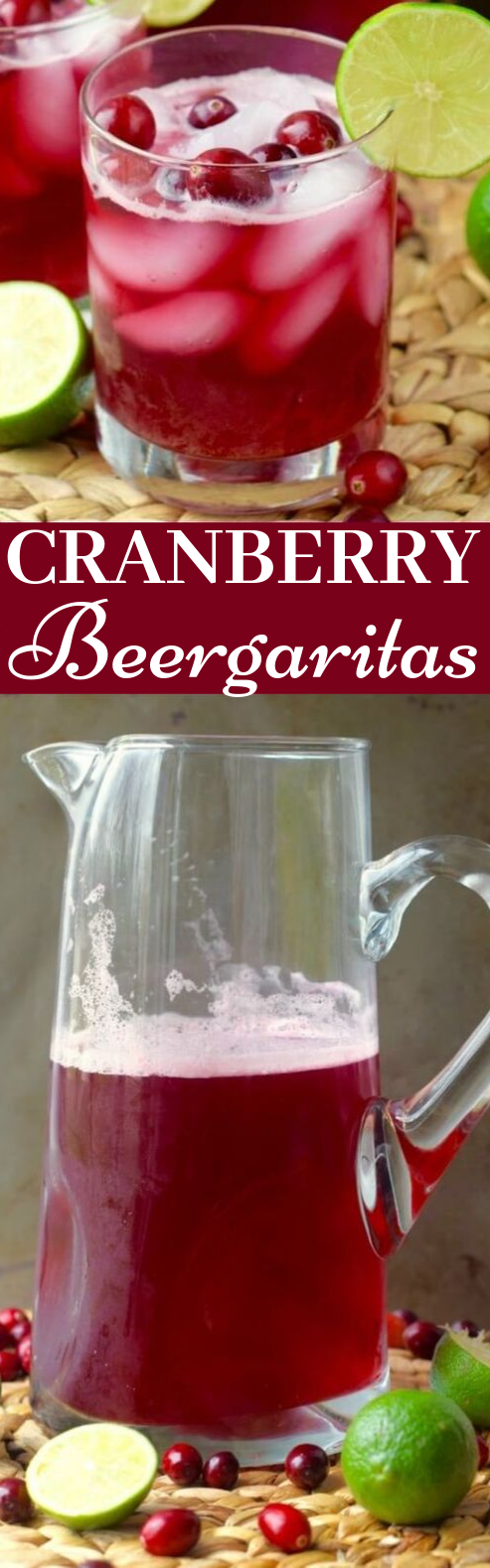 Cranberry Beergaritas #drinks #alcohol