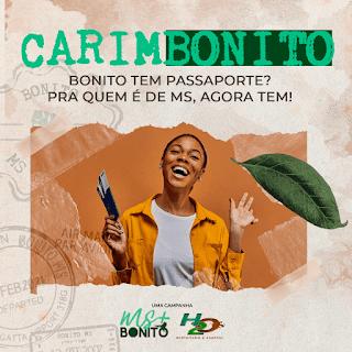 """MS+Bonito - Passaporte """"Carimbonito."""""""
