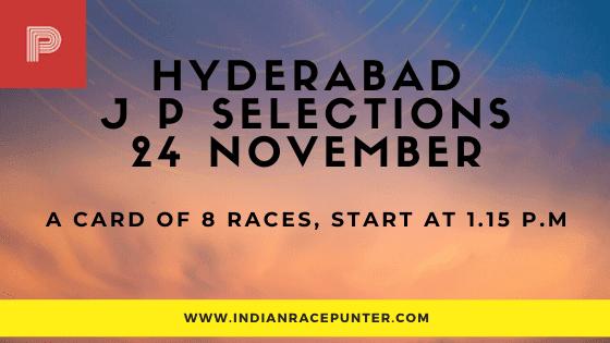 Hyderabad Jackpot Selections 24 November