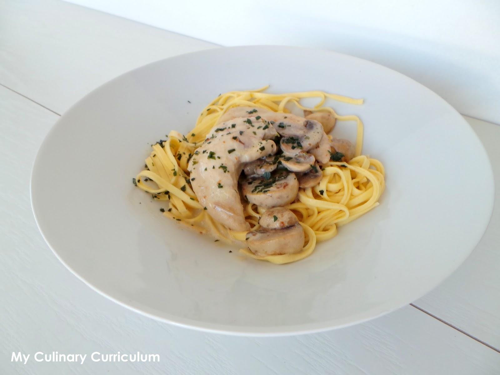 my culinary curriculum  aiguillettes de poulet  u00e0 l