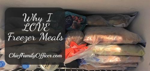 Freezer Meals Series