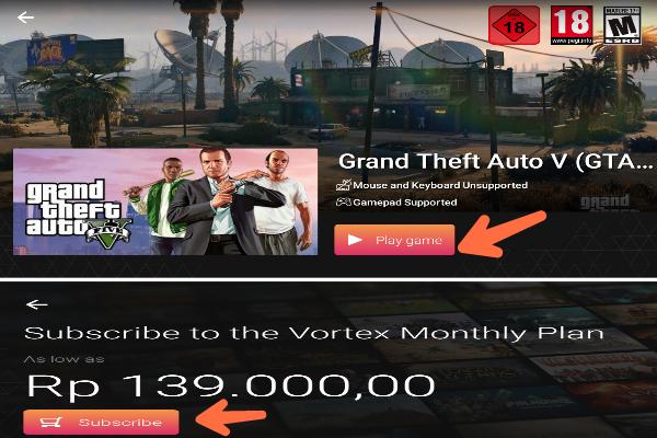 Cara Bermain GTA 5 Di Android