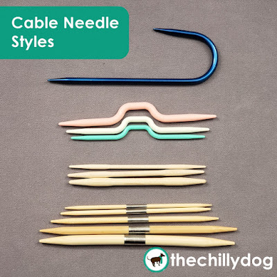Knitting Tools Video: Discover 4 standard styles of cable needles and 2 you may not have considered