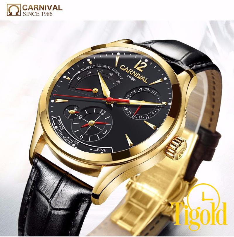 phân biệt đồng hồ Carnival chính hãng thật và giả