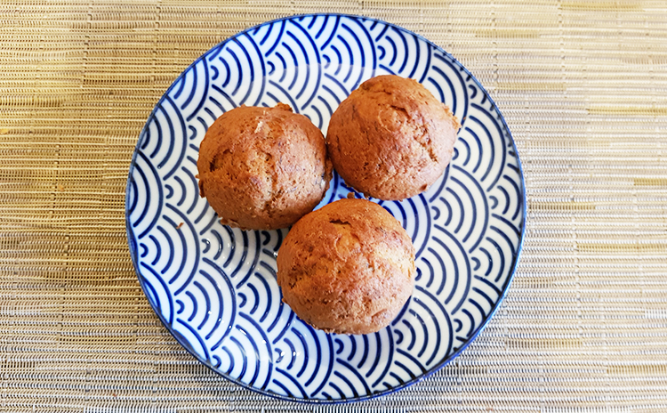 Mes muffins à la banane