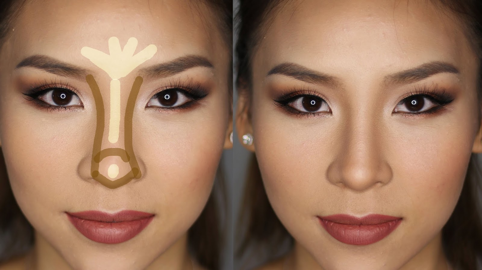 contouring on nose