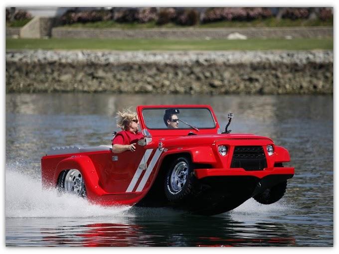 WaterCar - Mobil Amfibi Tercepat Di Dunia