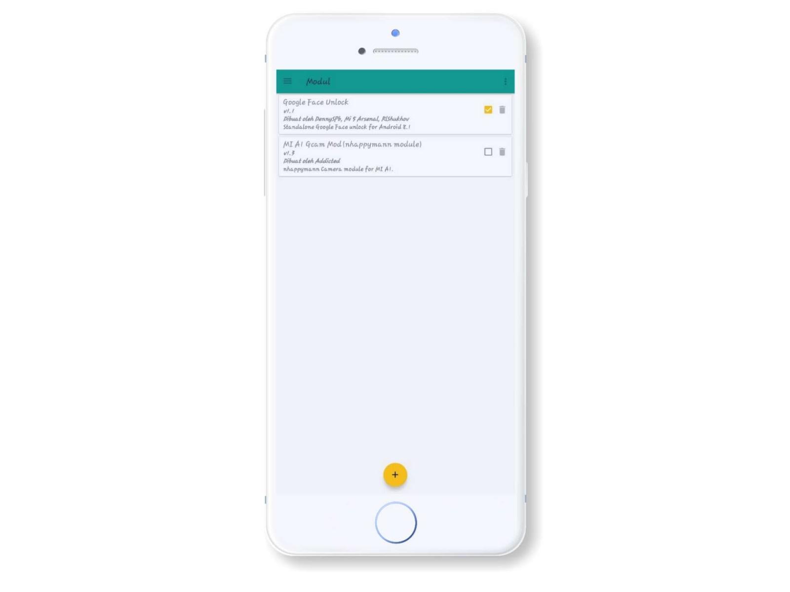 Module Magisk Face Unlock Android Oreo