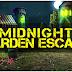 MirchiGames - Midnight Garden Escape