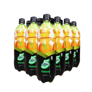 5 Alive Citrus Burst Fruit Drink 78cl x 12