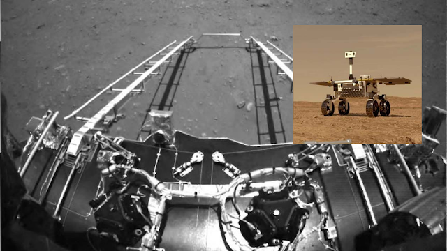 China's space achievement is a Mars landmark ending with a Mars Rover.