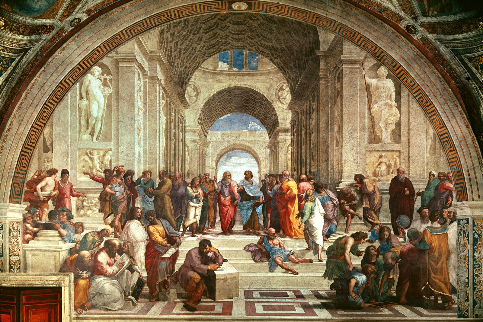 cuadro gral - Las Estancias de Rafael: La Sala de la Signatura