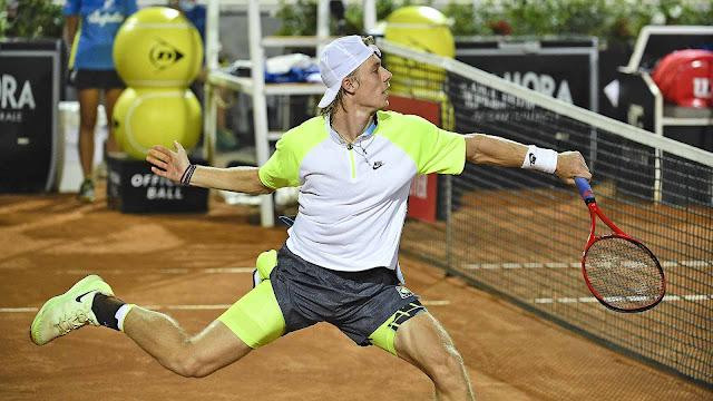 Dennis Shapovalov Roma tênis canadá