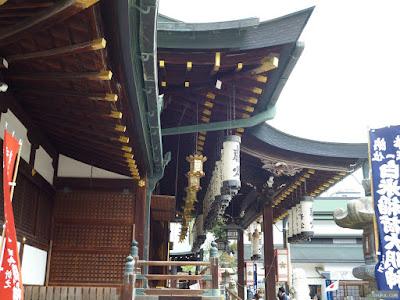 大阪天満宮灯籠