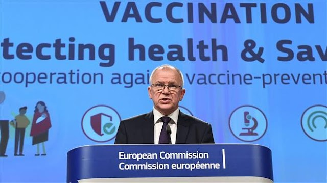 European Union Commissioner for Health and Food Safety Vytenis Andriukaitis wants coordinated vaccine push against diseases