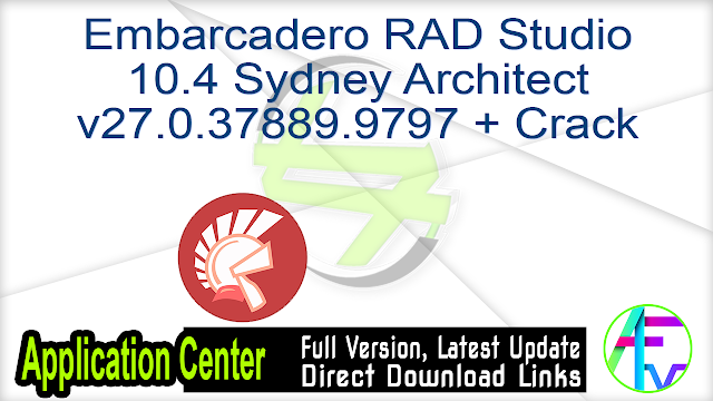 Embarcadero RAD Studio 10.4 Sydney Architect v27.0.37889.9797 + Crack