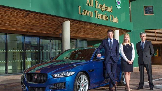 Mourinho presenta el nuevo coche oficial de Wimbledon