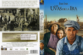 Carátula dvd: Las uvas de la ira (1940) The Grapes of Wrath
