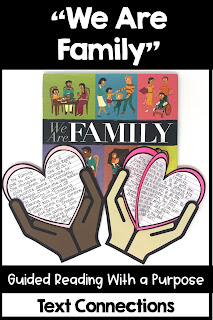 We Are Family Guided Reading with a Purpose